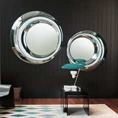 Wall Mirror Contemporary Oval Bedroom MARY By Massimiliano - Contemporary oval mirrors