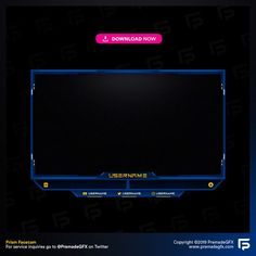 Gradient Facecam Overlay – PremadeGFX – Twitch Overlays, Animated Stream Overlays, Mixer Overlays and Stream Packages. Label Design, Packaging Design, Pixel Animation, Design Reference, Service Design, Overlays, Photoshop, Messages, Mixer