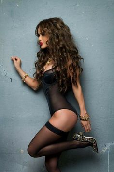 Lingerie Look: Photo Lingerie Photography, Hot Brunette, Sexy Stockings, Black Lingerie, Sensual, Elegant Dresses, Sexy Women, Tights, Beautiful Women