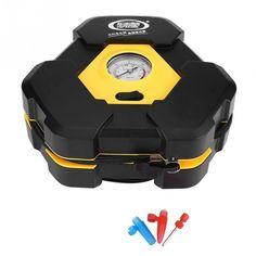 12v Car Electric Air Compressor Tire Inflator Pump Portable Tire