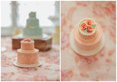 Tiny Cakes!   Victorian Inspiration Shoot | Smitten Magazine - good idea for treats!