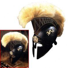 Royal Greek Helmet similar to Styxx's from the Dark-Hunter series by Sherrilyn Kenyon