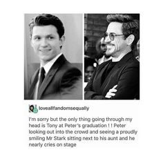 Marvel infinity war marvel textpost peter parker tony stark homecoming