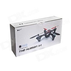 Hubsan H107C 2.4G 4-CH R/C Quadcopter w/ 2.0MP HD Camera - Black + Red