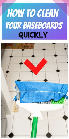 If you want to see your baseboards dust free, then you need to try this cleaning method that only takes seconds to do. #cleaning#cleaninghacks#householdhacks#cleaningtips#householdtips