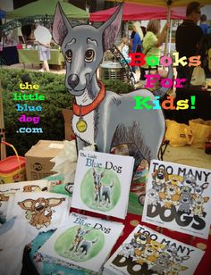 Books for Kids!  Compassion for animals and responsible pet ownership.  www.thelittlbluedog.com