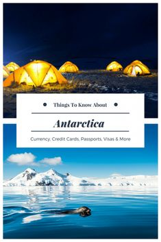 FAQs and tips for planning a trip to Antarctica.