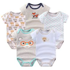 26729ff1e US $15.25 30% OFF|2018 Baby Boy Girl Clothes New Style 100%Cotton Cute Baby  Rompers for Newborn Baby Clothing Set 3pcs/lot Infantal Jumpsuits -in  Rompers ...