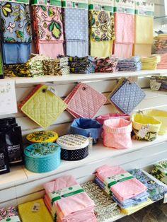Prunkande Trädgård ute i IM Fair Trade butiken i Lund!