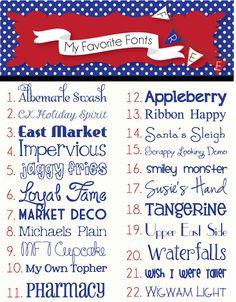 Heather Rolin: My Favorite FREE Fonts ~~ {22 free fonts w/ links}