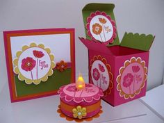 Stampin Up Demonstrator UK: Another box and welcome to Team Jelly Exploding Box Card, Cute Birthday Cards, 3d Paper Crafts, Light Crafts, Card Making Tutorials, Craft Show Ideas, Craft Box, Craft Fairs, Homemade Cards