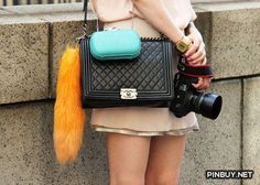outfit - Chanel Bag