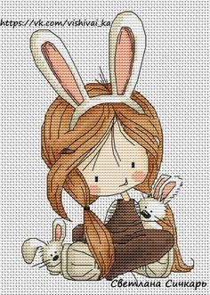 ВышивайКа - детские схемы вышивки крестом   ВКонтактi