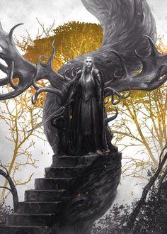 #Thranduil's throne sculpture #fanart SaoriQueen