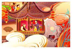 《锦鲤跃新春》希望新的一年,每个人都能成为锦鲤本鲤 - 原创作品 - 站酷(ZCOOL) Fair Grounds