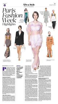 Clean Cuts From Dior and Celine at Paris Fashion Week|Epoch Times #Fashion #newspaper #editorialdesign