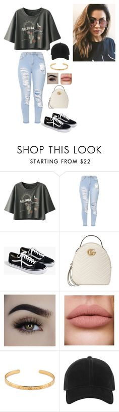 """""""Untitled #40"""" by s785 on Polyvore featuring J.Crew, Gucci, rag & bone and MINKPINK"""