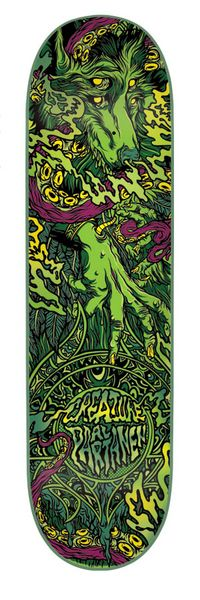 #Skateboard Creature - Al Partanen Signature Deck