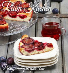 Plum Kuchen - oh I haven't had this in so long!!!!