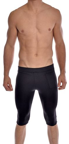 76b3db127c Black Speedo Mens Hydrosprinter with Compression Swimsuit Shorts Workout & Swim  Trunks Medium
