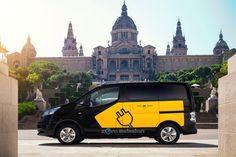 Le taxi électrique de Barcelone Nissan e-NV200 présenté au salon de Francfort #Taxi #Electrique #Barcelona #Nissan #e-NV-200 #Francfort