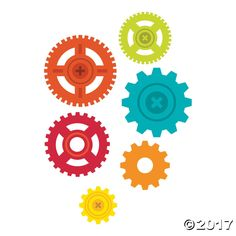 These Geared Up for God VBS Gear Cutouts will really get your VBS or Sunday School class worked up! Use these gears to decorate your classroom walls or set ...