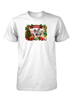 Christmas Family Holidays Custom Personalized T-Shirt for Men