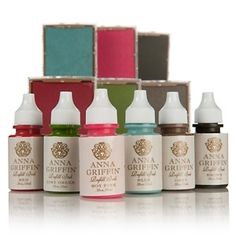 Anna Griffin® Ink Pads and Refills 6-Color Kit at HSN.com.