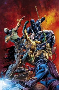#Aquaman #Fan #Art. (AQUAMAN #8) By: Ivan Reis. (THE * 5 * STÅR * ÅWARD * OF: * AW YEAH, IT'S MAJOR ÅWESOMENESS!!!™)[THANK U 4 PINNING!!!<·><]<©>ÅÅÅ+(OB4E)