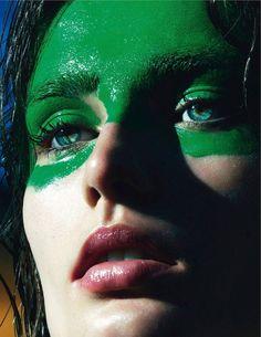 la fièvre grunge: saskia, vivien, sam, suvi, sky, gisele, andreea and karen by mert and marcus for vogue paris september 2013