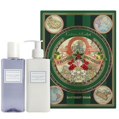 #SeasonalSpectacular  Our Nantucket Briar Bath & Shower Gel and Nantucket Briar Body Lotion come conveniently paired in a festive and bold botanical gift box, delighting the senses with an eclectic aromatic blend of flora, citrus, exotic spices, and wisps of vanilla. Brilliant for family or friends, or simply for your lovely self.