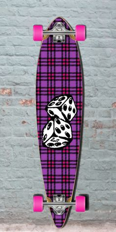 Longboards USA - Dice Pintail Longboard 40 inch from Punked - Complete, $96.99 (http://longboardsusa.com/longboards/pintail-longboards-shape/dice-pintail-longboard-40-inch-from-punked-complete/)