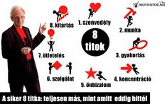 A siker 8 titka: teljesen más, mint amit eddig hittél (by TED) Ted, Playing Cards, Mint, Motivation, Montessori, Quotes, Ideas, Style, Projects