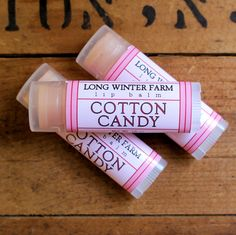 Cotton Candy Lip Balm - Long Winter Soap Co.