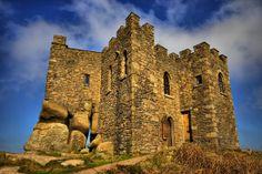 Medieval castle on hill, Carn Brea Cornwall Castle, Modern Gothic, Medieval Castle, Terrace, Exterior, London, Places, Castles, Image