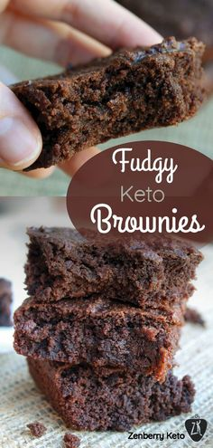 These Fudgy Keto Brownies will blow your mind! They are the fudgiest low carb br. These Fudgy Keto Brownies will blow your mind! They are the fudgiest low carb brownies I've ever tasted. You won't be disappointed with these. Keto Desserts, Keto Friendly Desserts, Keto Snacks, Dessert Recipes, Keto Sweet Snacks, High Protein Low Carb, Low Carb Keto, Low Carb Recipes, Diet Recipes