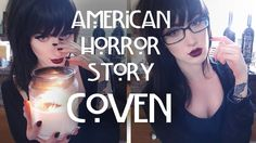 American Horror Story Inspired Makeup // Coven