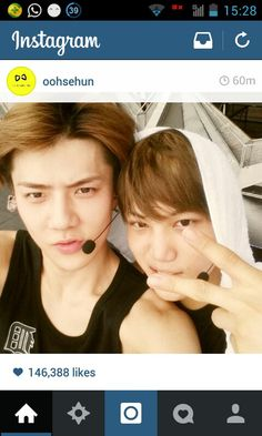 1000+ images about with kai on Pinterest | Sehun, Luhan ...