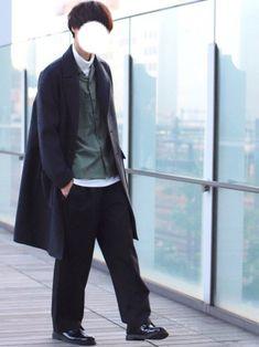 タートルネックと開襟シャツを合わせるのに ハマってます⭕️ こちらのコートが 現在35%off