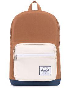 Pop Quiz Backpack (Caramel Natural) Herschel Supply Co 2072643ecfd72