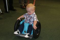 """...not only great for mobility, but also offers opportunity to play with other children at their level and be able to pick up toys off the floor and play with them."" www.myzipzac.com/"