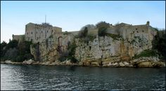 Fort Royal, Ile Sainte Marguerite - prison in which the so-called Man in the Iron Mask was held in the 17th century