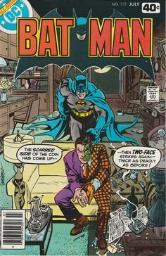 Batman Vol. 40 No. 313  1979 by TheSamAntics on Etsy