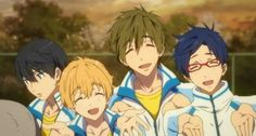 Lol, look at Haru's face compared to the others