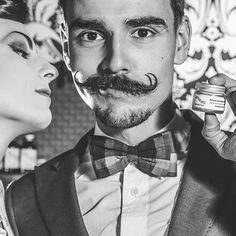 Nice moustache work! Barber Man, Beard Barber, Mustache And Goatee, Handlebar Mustache, Barba Van Dyke, Bald Men Style, Hair And Beard Styles, Hair Styles, Beard Oil And Balm