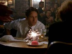 Today is David Duchovny's birthday. He is 54.