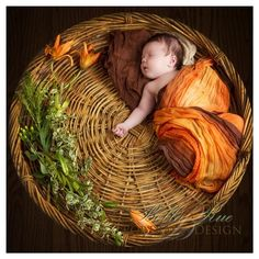 $15 - 'Pumpkin Spice' Newborn Wrap, regardless of gender - we're having Dos a month before Halloween and right in Fall...this would be perfect for breastfeeding covering as well as for pictures..