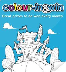 Colour-In & Win: great website for lots of cute printables for kids