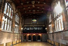 After a mid day meal at the Rose and Crown in Coventry, the travelers did a little sightseeing at St. Mary's Guildhall.