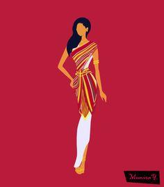 My Painted Veil, Somali dress called Guntiino.